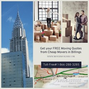Get your FREE Moving Quotes from Cheap Movers in Billings